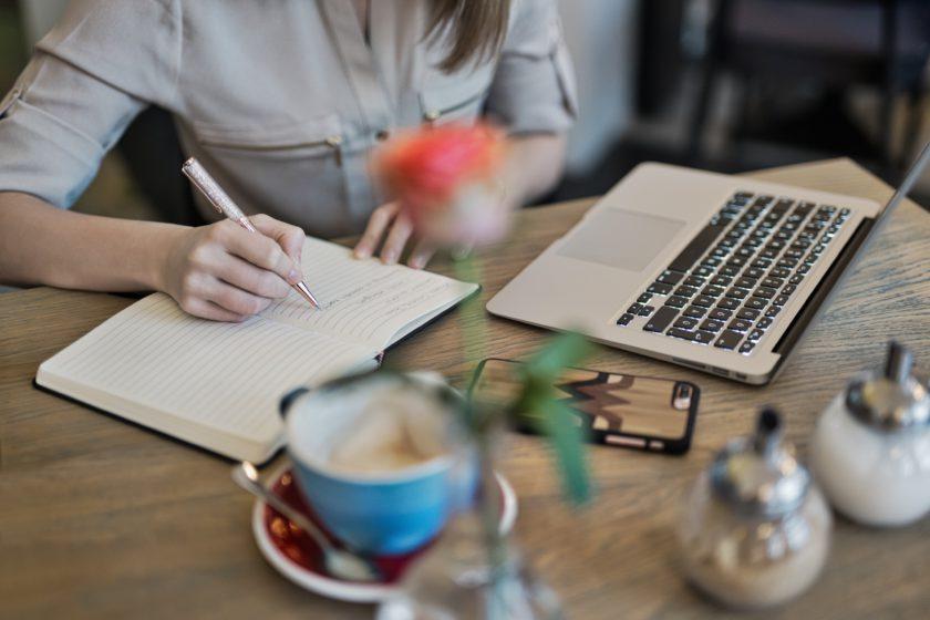writing desk coffee