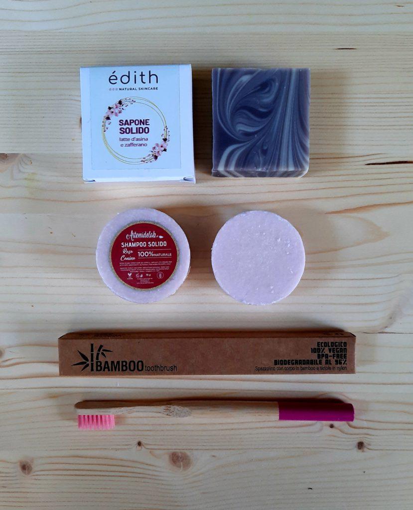 saponetta_shampoo solido_spazzolino bamboo
